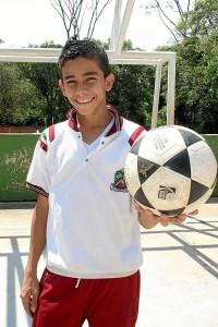 En noviembre se sabrá si este joven deportista se unirá a las filsa del Bolton. Mauricio Betancourt / GENTE DE CAÑAVERAL
