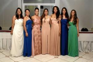 Lina Forero, Diana Said, Natalia Marín, Camila Escobar, María Daniela Rojas, Daniela Bueno y Carolina Peña.