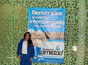Paula Andrea a su llegada a la Villa Olímpica. Suministrada / GENTE DE CAÑAVERAL