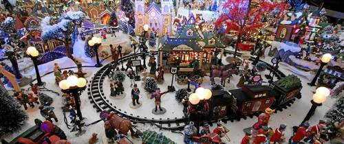 La Navidad despierta la imaginación de los habitantes del sector