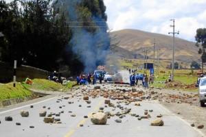 Protesta en Perú. Suministrada / GENTE DE CAÑAVERAL