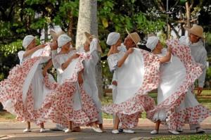 Grupo folclórico 'Cdanza'.