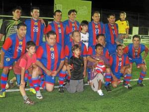 El equipo campeón, Escuela Panamericana, conformado por representantes del Seminario Mayor.