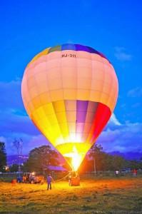 Este globo gigante y multicolor es ahora una atracción especial. Mayores informes en la página de Facebook Aerotrike Santander o en el teléfono 318-791-1765.
