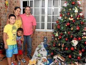 Familia Colorado López.