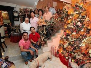 Familia Ramírez Beltrán, familia del ex entrenador de pesas Hernando Ramírez.  Hernández Ramírez,
