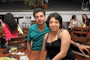Carolina Gualdrón y Alexander Osma.