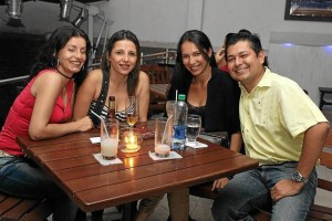 Sandra Patricia Sierra, Mónica Monsalve, Lina Ordoñez y Ariel Rincón.