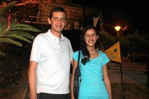 Óscar Barrera y Juliana Barrera