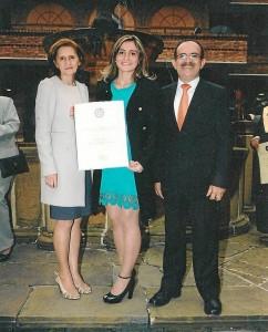 Fanny Isabel Acevedo, Colombia Alfonso y Juan de Dios Alfonso.