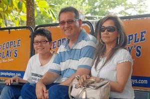 Zuly Calderón, Luis Carlos Mantilla y Luis Carlos Mantilla Calderón.
