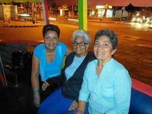 Janeth Peña Torregrosa, Victoria de Peña y Leonor Peña. (Foto Suministrada).