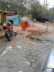 Fotografías tomadas en la vía de acceso al barrio Palomitas y la perimetral nor-occidental Clínica Carlos Ardila Lülle