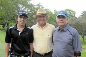 Carlos Andrés Díaz, Alfonso Carvajalino y Julio César Hernández. (Foto por  Javier Gutiérrez).