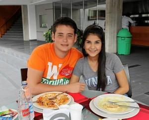 Miguel Serrano y Eva Alejandra Moreno. (Foto Mauricio Betancourt).