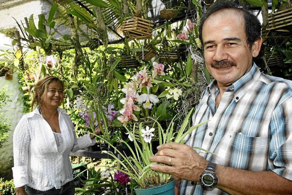 Judith Niño y Orlando Rincón. Foto César Flórez / GENTE DE CAÑAVERAL