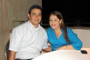 Hernando Duarte y Mayerly Mora.