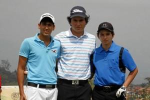 Marcelo Higuera, Iván Camilo Ramírez y Juan Daniel Mesa.