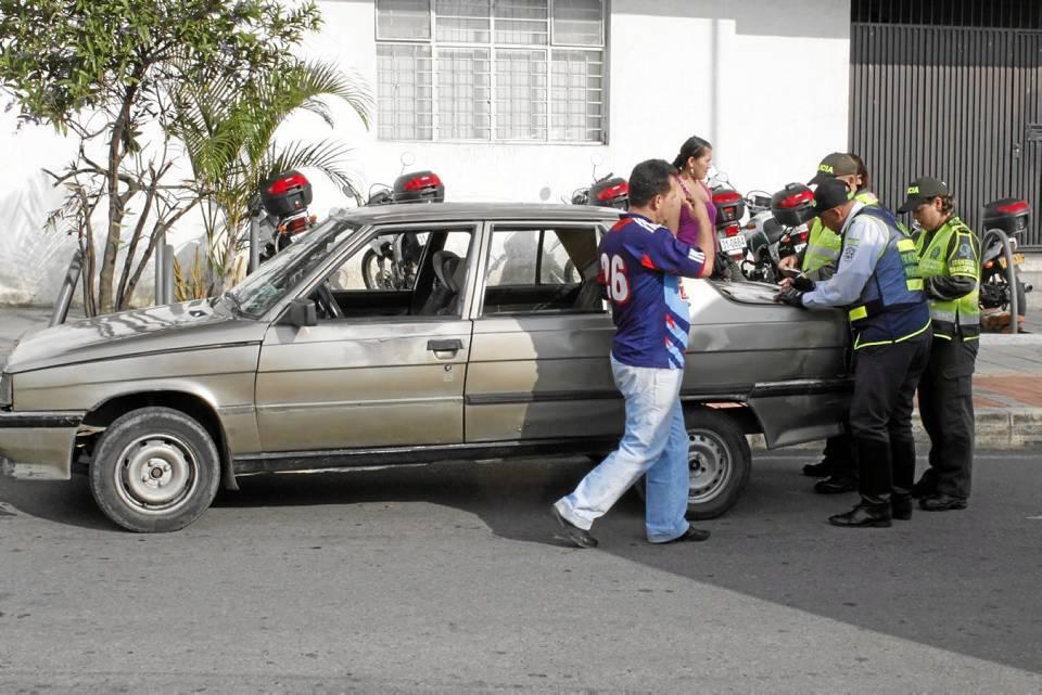 Aumentan los operativos y multas a vehículos de transporte pirata en el sector. Archivo / GENTE DE CAÑAVERAL