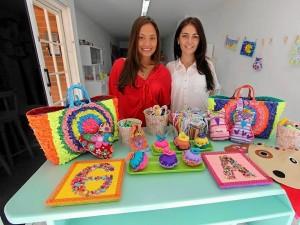 Catalina (izquierda) y Eliana (derecha) son las mentes maestras detrás de El Costurero.  Mauricio Betancourt / GENTE DE CAÑAVERAL