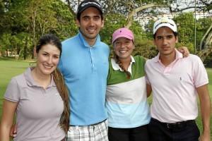 Laura González, Jorge Chona, Cristina Gutiérrez y Camilo Gallego