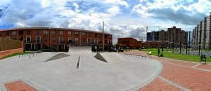 Skatepark del Parque Salitre – Bogotá.