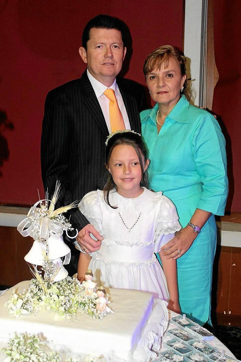 Juan Mauricio Suárez González, María Claudia Ordóñez Parra y María Lucía Suárez Ordóñez.