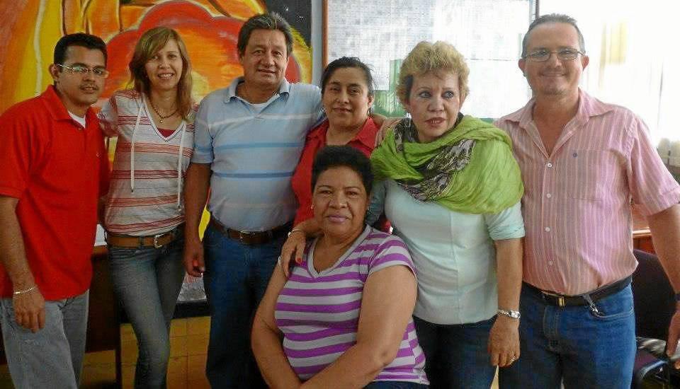 Enrique González Mendoza, Zayda Ximena Mendoza Ortiz, José Manuel Ruíz Sánchez, Blanca Liliana Parada Peláez, Luz Stella Jaimes León, Ana Zoyla Bernal de Quiroga y Nelson Peñaranda Contreras.