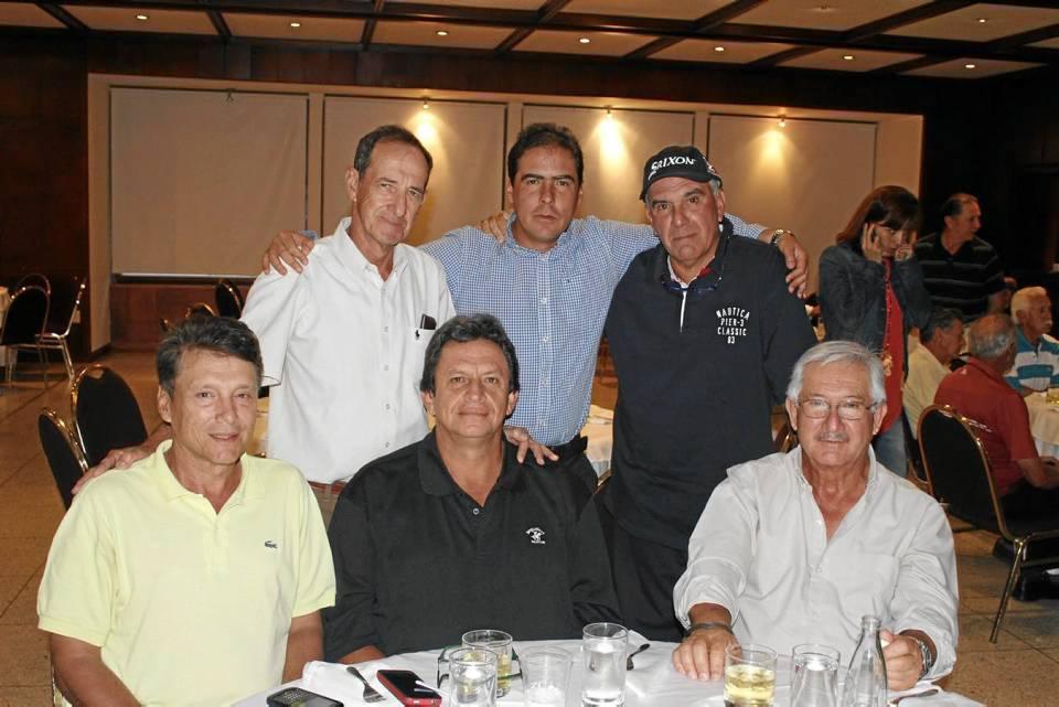 Guillermo Bretón, Guillermo Ramírez, Gustavo Giraldo, Gerardo González, Alejandro Ruiz y Alfredo Morales.