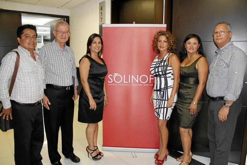 Carlos Gómez, Jairo Rey, Luz Stella Reyes, Rocío Reyes, María Fernanda Pérez y Eduardo Salamanca.