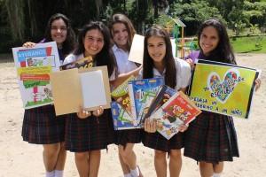 Estas son las integrantes del grupo Somos Sara Inés Rodríguez Hernández, Nathalia Castillo Hernández, Alejandra Santamaría Bejarano, Valentina Santos Londoño y Daniela Marín Rey. Suministrada / GENTE DE CAÑAVERAL
