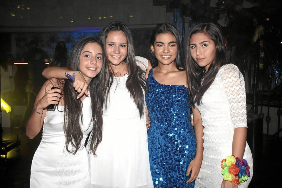 Silvia Naranjo, Gabriela Biffi, Cynthia Díaz Rueda y Daniela Moncada.