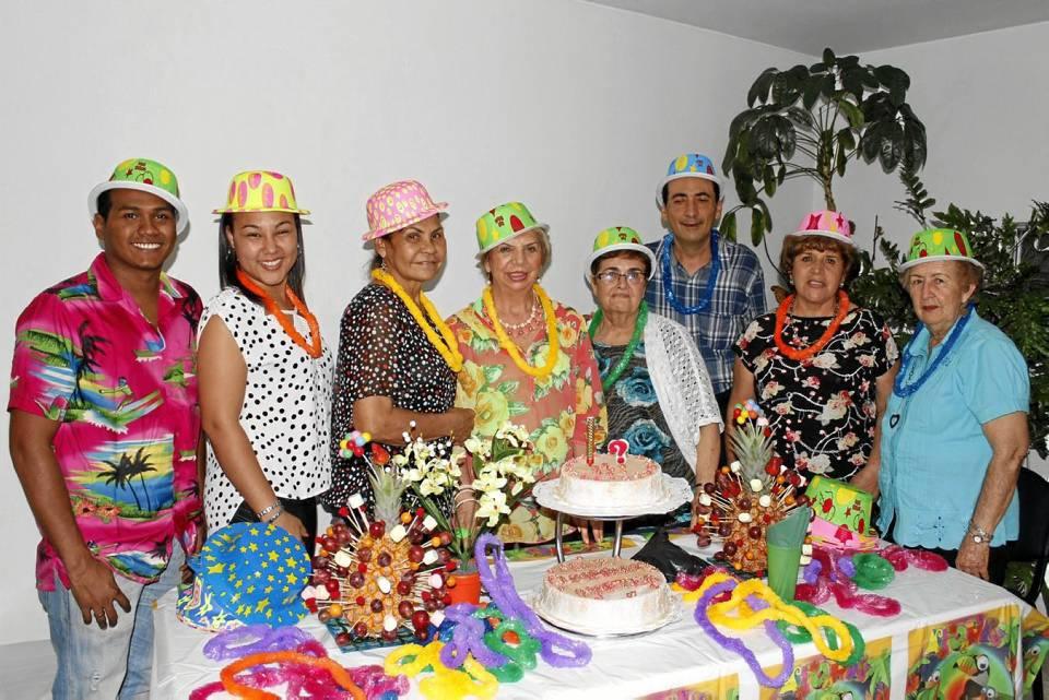 JamerRodríguez, Esther Aragón, Rosa Elvira Vergara, Martha Cecilia Rivera,Isbelia Lozano, Wilson Carrillo, Josefa Rivera y Marina Sánchez.