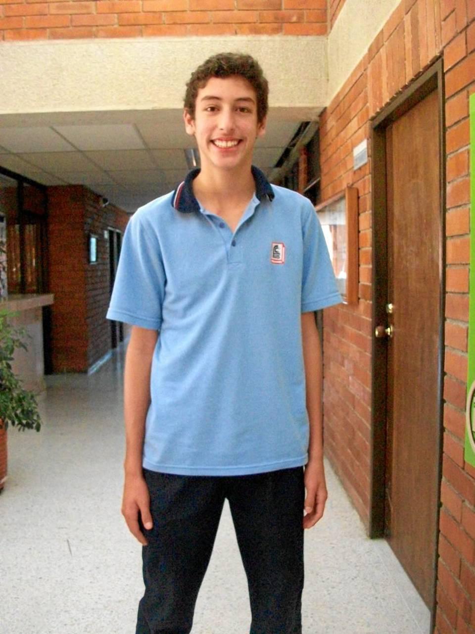 Camilo Eduardo Arias Osorio del grado 8º.