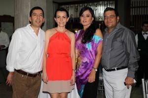 Mauricio Angarita, Moramay Gutiérrez, María Olivia Ortiz y Martín Pinto Castellanos.