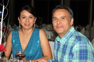 María Alexandra Sánchez y Mauricio Escobar Sánchez.