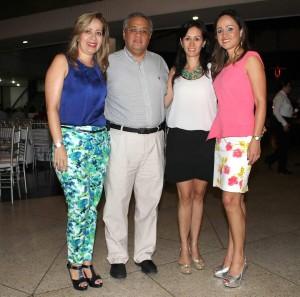 Luz Estella Cruz, Jorge Enrique Delgado, Silvia Cuevas y María Isabel Cuevas.