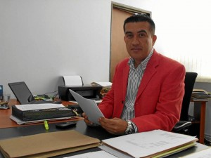 El director de Tránsito, Germán Aponte, ha liderado las jornadas en Cañaveral y sus alrededores. Imagne de Archivo / GENTE DE CAÑAVERAL