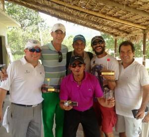 Kiko Ruiz, Óscar Bayona, Fernando Martínez, Richi Mantilla, Gigio Rangel y adelante, Gustavo Liévano. - Imagen suministrada / GENTE DE CAÑAVERAL