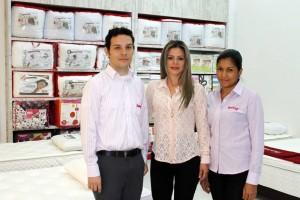 Carlos Alberto Rivero, Aida Milena Acosta y Julieth Añez Toloza. - Nelson Díaz / GENTE DE CAÑAVERAL