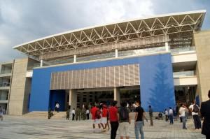 El coliseo Sol de Aquino de la Univesidad Santo Tomás en Floridablanca será el escenario en el que se realizarán los juegos. - Imagen suministrada / GENTE DE CAÑAVERAL