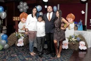 Silvia Zárate, Luis Francisco Torres, Alejandro Torres y Daniela Torres. - Mauricio Betancourt / GENTE DE CAÑAVERAL