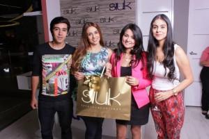 Yersin Sandoval, Diana Sandoval, Mónica Torres y Yurany Sandoval. - Imagen suministrada / GENTE DE CAÑAVERAL