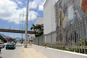 De acuerdo con varias fuentes relacionadas con el mantenimiento de la obra, los trabajos adelantados por Metrolínea años atrás habrían debilitado la estructura. - Mauricio Betancourt / GENTE DE CAÑAVERAL