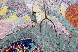 Tras las fuertes lluvias que se presentaron en Floridablanca el pasado jueves 18 de julio varias de las piezas del mural se vinieron abajo. La obra también presenta grietas desde hace varios meses.  - Archivo / GENTE DE CAÑAVERAL
