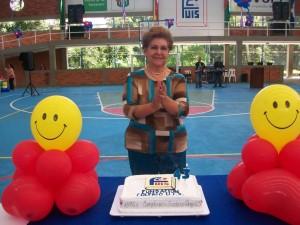 La Rectora de la Fundación Colegio UIS, Doris Sarmiento de Gamboa. - Imagen suministrada / GENTE DE CAÑAVERAL