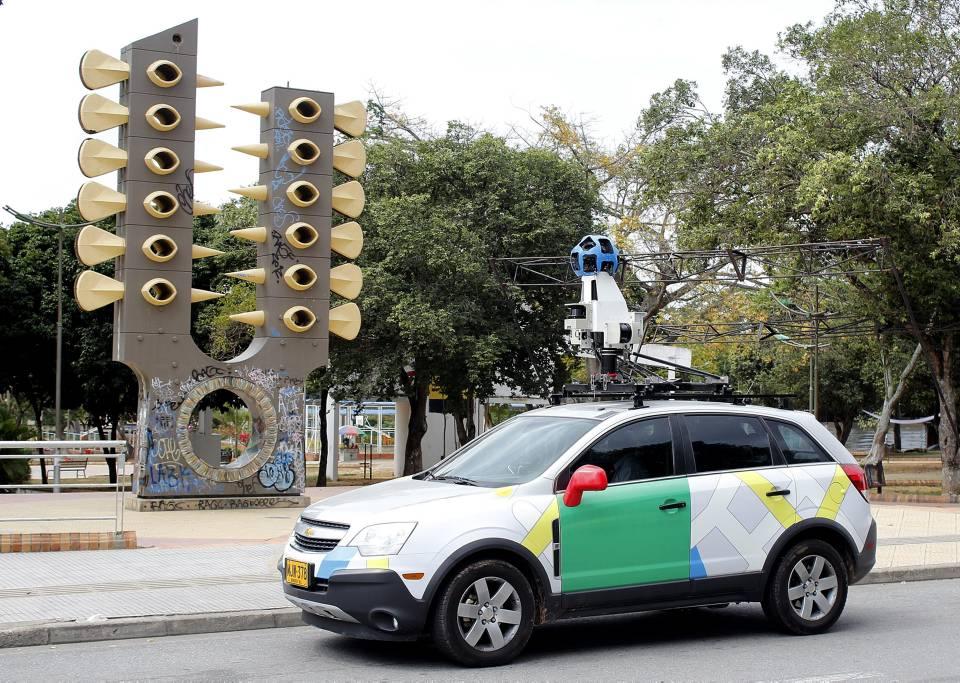 Este es el vehículo que utiliza Google para tomar imágenes que luego reproduce