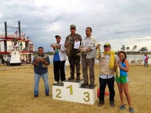Estos son los ganadores de la pasada versión del torneo de pesca.  - Imagen suministrada / GENTE DE CAÑAVERAL