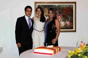 Carlos Castillo Ruiz, Silvia Juliana Castillo Ruiz, Jennifer Castillo.  - Mauricio Betnacourt /GENTE DE CAÑAVERAL