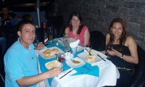 Jorge Enrique Forero, Deisy Mayerly e Ingrid Herreño. - Suministrada /GENTE DE CAÑAVERAL